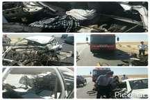یک کشته 2 مصدوم در سانحه تصادف در دزفول