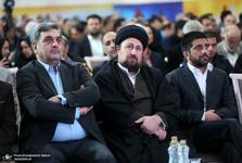 آیین نامگذاری مجموعه ورزشی «استاد کهندل» با حضور سید حسن خمینی