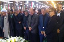 پیکر پزشک جانباز و خیر در جهرم تشییع شد