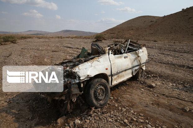 واژگونی پراید در محور بوکان ـ مهاباد یک کشته و ۲ زخمی برجا گذاشت