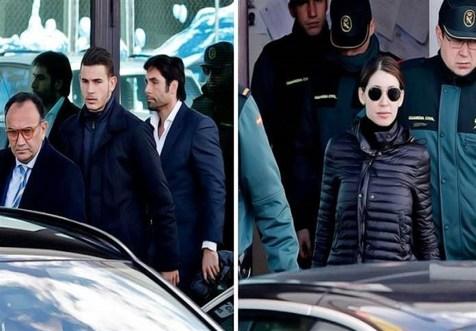 درخواست دادستان اسپانیایی برای حبس مدافع اتلتیکو مادرید و نامزدش