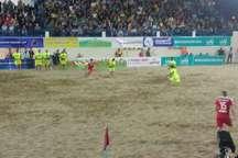 فوتبال ساحلی جهان  گلساپوش ایران، لوکوموتیو روسیه را مغلوب کرد