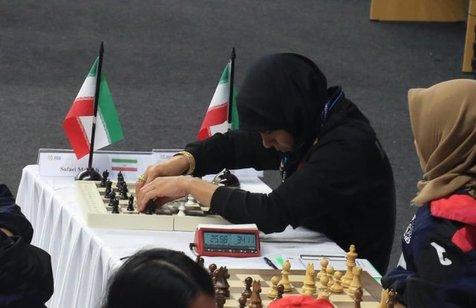 دو طلای شطرنج نابینایان در پاراآسیایی قطعی شد