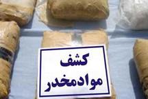 کشف 20 کیلوگرم انواع موادمخدر درشهرستان های بوشهر و دشتستان