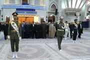 تجدید میثاق رئیس جمهور و اعضای هیئت دولت با آرمانهای امام راحل
