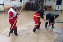 امداد رسانی هلال احمر به سیل زدگان استان قزوین