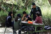 نیروی انتظامی با روزه خواران برخورد می کند