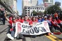 تصاویر/ بازداشت معترضان آمریکایی