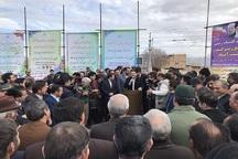 آغاز عملیات اجرایی تقاطع زیرگذر دولت آباد مرند