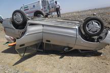 واژگونی پراید در داراب یک کشته برجا گذاشت
