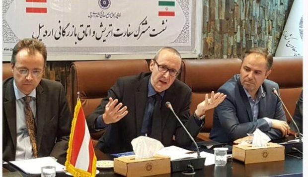 موانع ورود سرمایهگذاران به بازار ایران مرتفع شود 60 درصد توان اقتصادی اتریش صادرات است