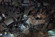 انفجار مجتمع مسکونی در شهرری 6 مصدوم بر جای گذاشت