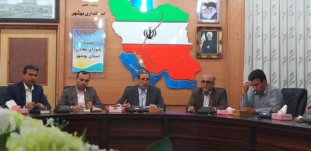 موانع داخلی حوزه تولید در بوشهر برطرف می شود
