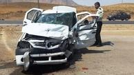 سانحه رانندگی در محور مهاباد - ارومیه یک کشته و ۳ مجروح برجا گذاشت