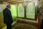 وزیر کشور به زیارت امامزاده حسین ابن علی ابن موسی الرضا (ع) شتافت