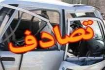 4 مصدوم براثر تصادف در آزاد راه کرج- قزوین