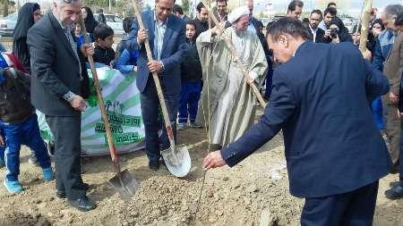 آیین 'روز درختکاری' در گلپایگان برگزار شد