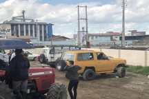 50 دستگاه خودرو آفرود از البرز به گلستان اعزام شد