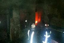2 نفر در حادثه انفجار واحدی مسکونی در کاشان مصدوم شدند
