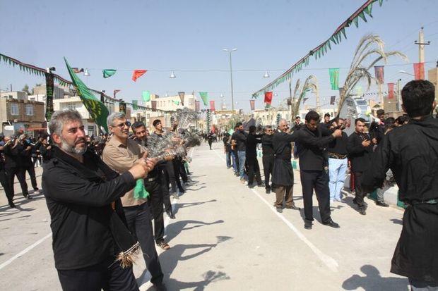 اجتماع بزرگ عزاداران ابوالفضل العباس (ع) در قصرشیرین برگزار شد