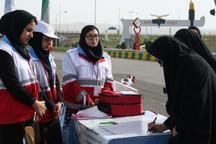 39 هزار نفر به ایستگاه های هلال احمر زنجان مراجعه کردند