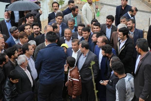 شهرستان باشت سوار بر قطار پر شتاب توسعه