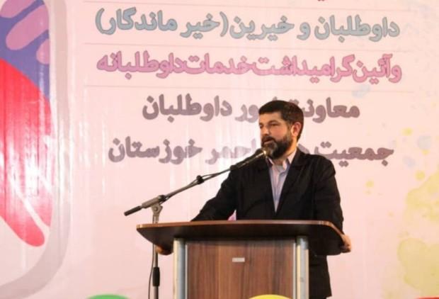 استاندارخوزستان:جمعیت هلال احمر درخدمات پژوهشی وعلمی ورود کند