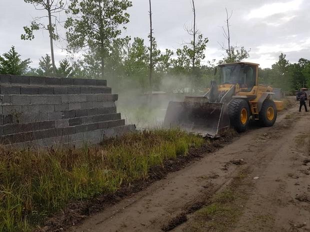 بیش از یک هکتار اراضی منطقه آزاد انزلی رفع تصرف شد