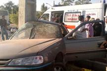 چهار نفر در سانحه رانندگی در یاسوج در آتش سوختند