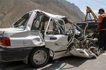 تصادف در جاده کرج - چالوس 9 مصدوم برجای گذاشت