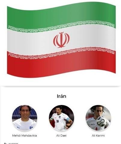 سه بازیکن برتر تاریخ ایران از نگاه نشریه مارکا + لینک نظرسنجی