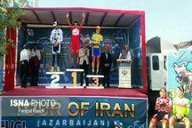 قهرمانی کلاهدوز در مرحله چهارم تور دوچرخه سواری ایران - آذربایجان