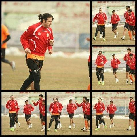 آندو تیموریان دوباره قرمزپوش شد! + عکس
