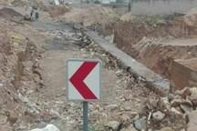 مخاطرات 2 روستای در معرض رانش زمین شیروان برطرف شد