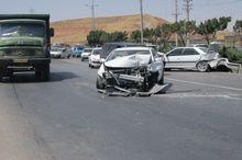 حادثه رانندگی در مسیر شاهینشهر- وزوان ۱۱ مصدوم برجاگذاشت