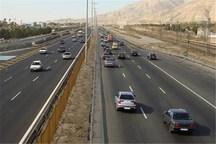 46 هزار تردد روزانه وسایل نقلیه در محورهای منتهی به شیراز