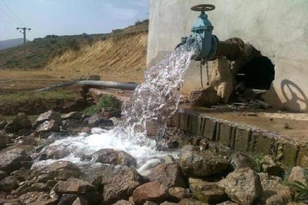 مشکل آب شرب 500خانوار روستایی گچساران برطرف شد