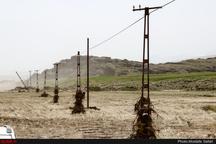 بسته شدن جاده اهواز - آبادان به علت سیلاب