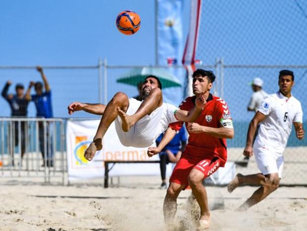 یزد میزبان مسابقات فوتبال ساحلی امید کشور شد