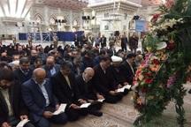 مدیران نهضت سواد آموزی با آرمانهای امام(ره) تجدیدمیثاق کردند