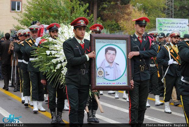 پیام تبریک و تسلیت رهبر معظم انقلاب به خانواده شهید نورخدا موسوی