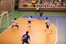 فوتسال لیگ برتر  ارژن شیراز برابر گیتی پسند اصفهان شکست خورد