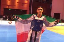 هادی پور عازم مسابقات تکواندو قهرمانی جهان شد