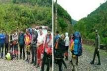 نجات جان 10 کوهنورد زنجانی در ارتفاعات فومن
