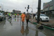 نیروهای مدیریت شهری ارومیه برای حل مشکلات ناشی از بارشها آمادگی کامل دارند