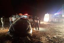 واژگونی خودرو در قوچان پنج نفر را مصدوم کرد