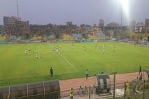 نفت آبادان مقابل استقلال خوزستان به تساوی رسید