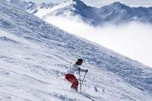 پیست اسکی همدان با ریزش برف سنگین بازگشایی می شود