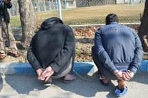 سارقان انباری ها در فردیس دستگیر شدند