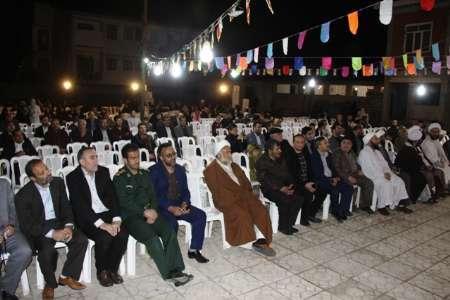 شعیان و اهل تسنن آستارا عید مبعث را گرامی داشتند